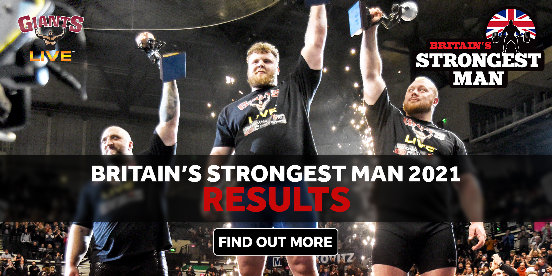 Britain's Strongest Man 2021 - THE RESULTS