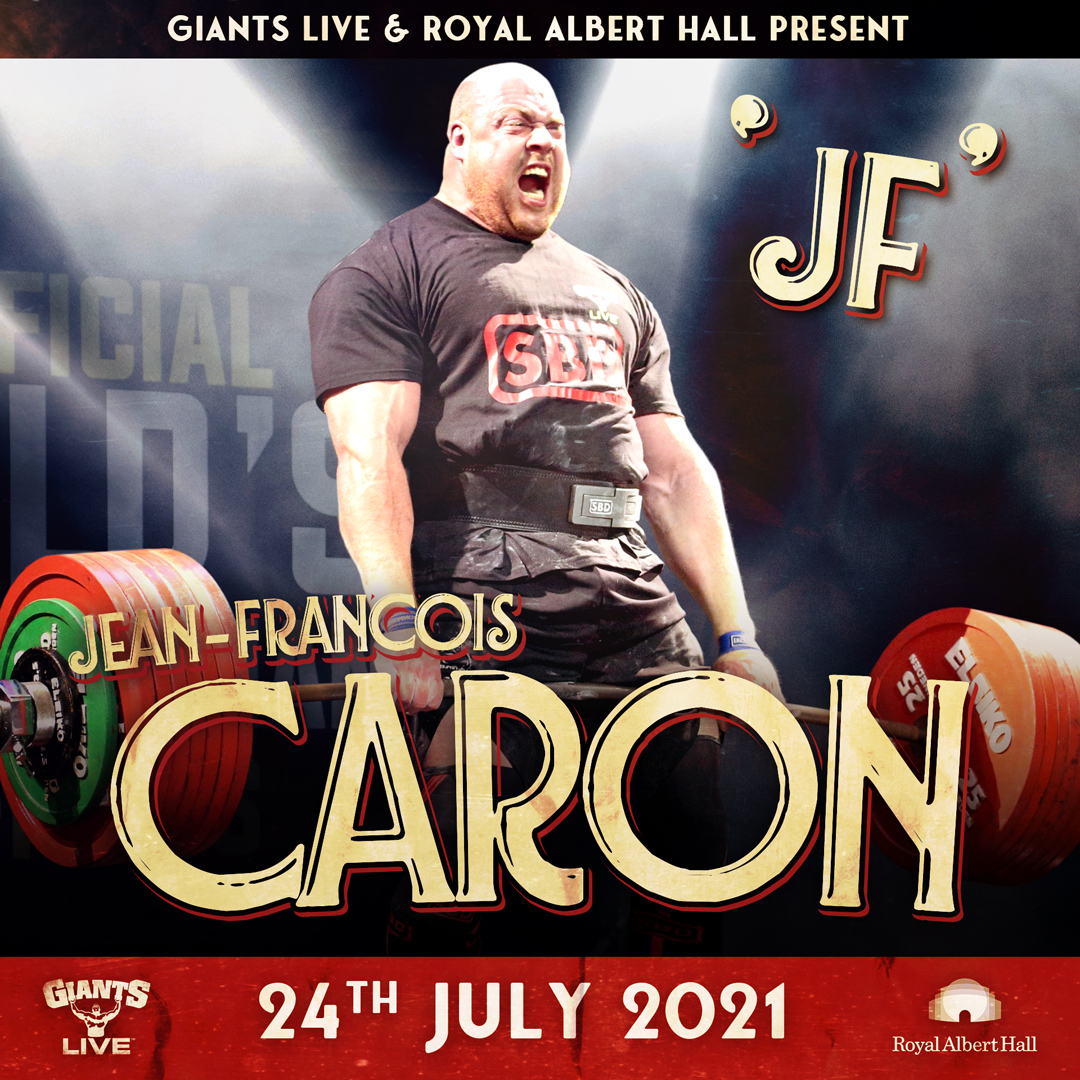 JF Caron - Canada's Strongest Man