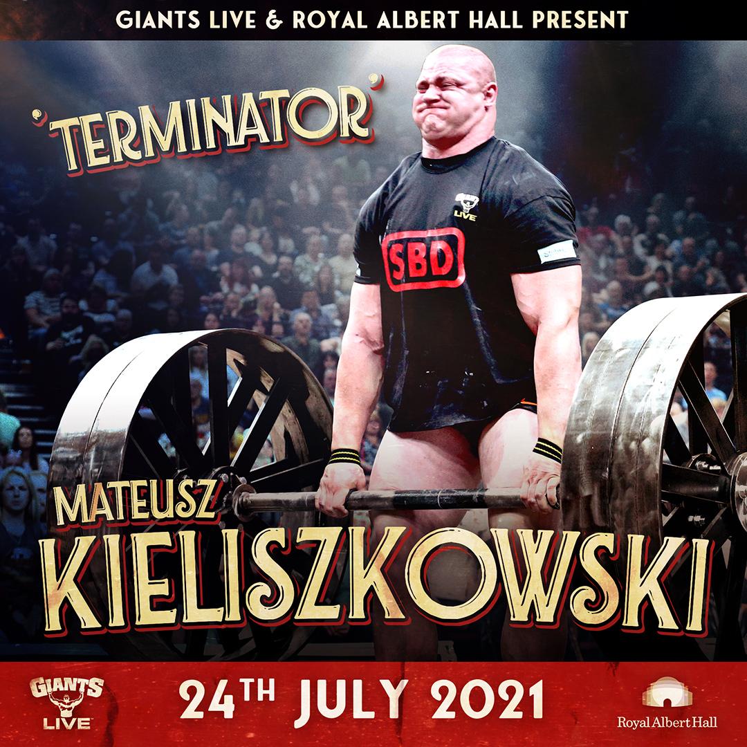Mateusz Kieliszkowski - The Terminator