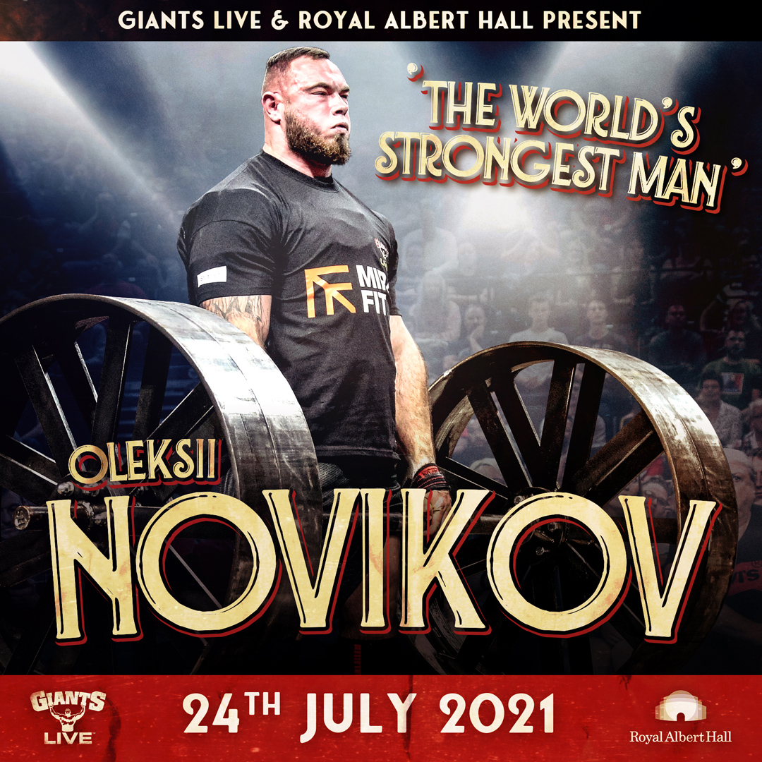 Oleksii Novikov - The World's Strongest Man