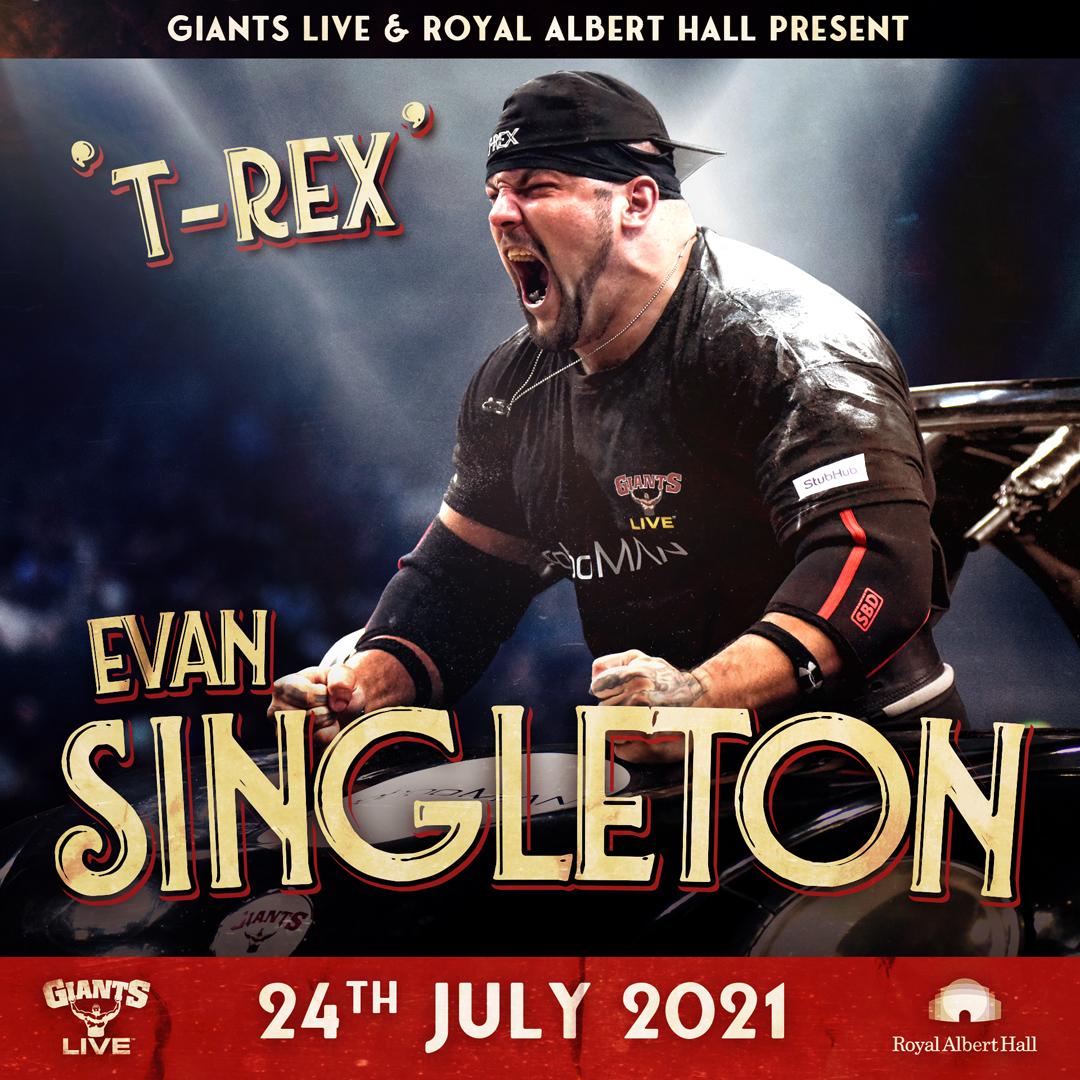 Evan Singleton - America's Strongest Man