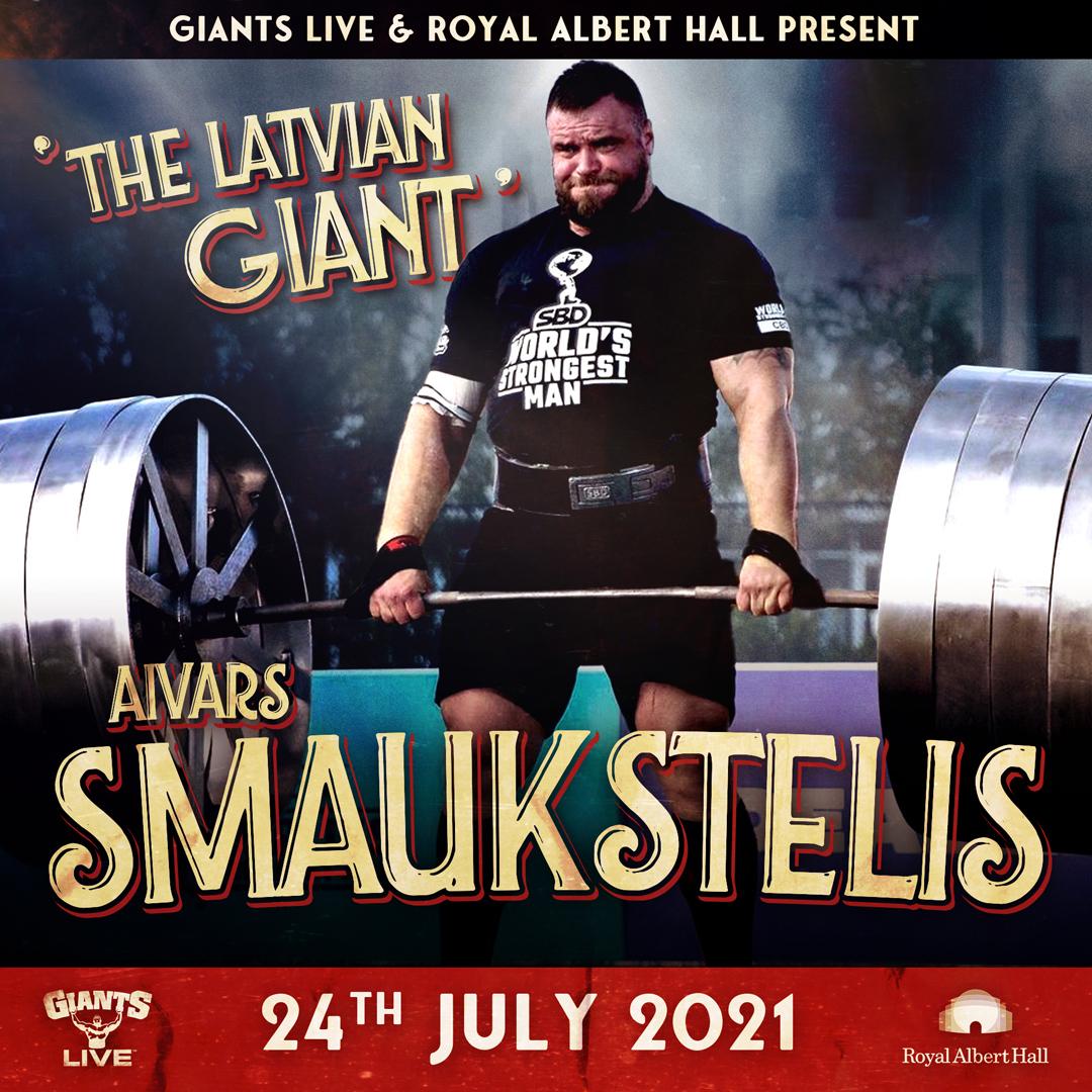 Aivars Smaukstelis - The Latvian Giant