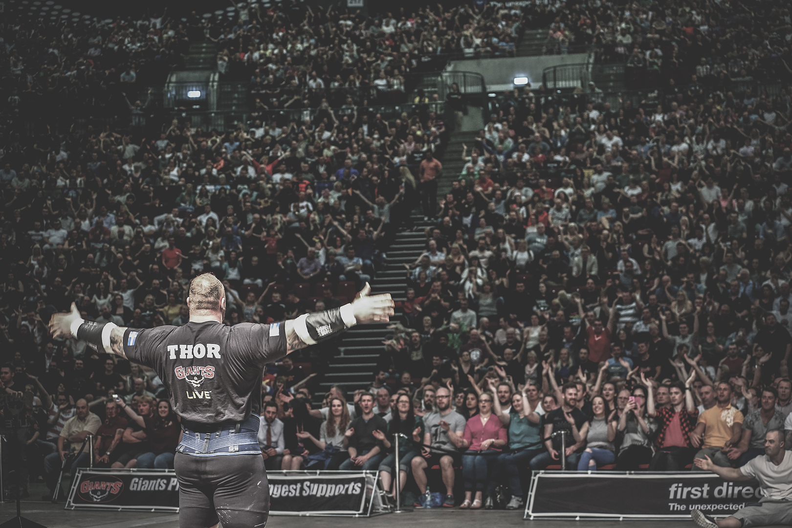 Thor Bjornsson at Europe's Strongest Man