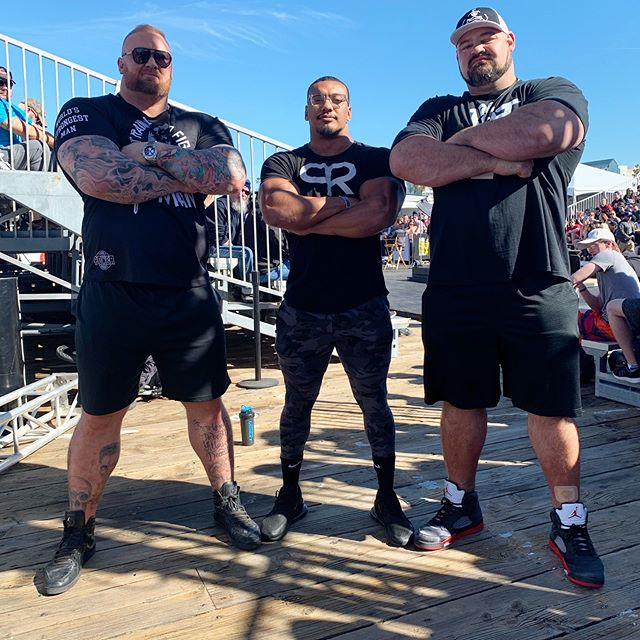 Brian Shaw, Larry Wheels and Thor Bjornsson