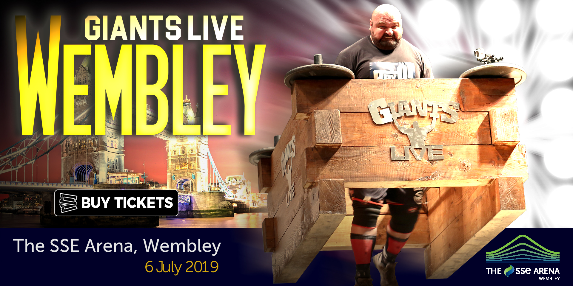 The GIANTS are coming to WEMBLEY - Get your tickets NOW!