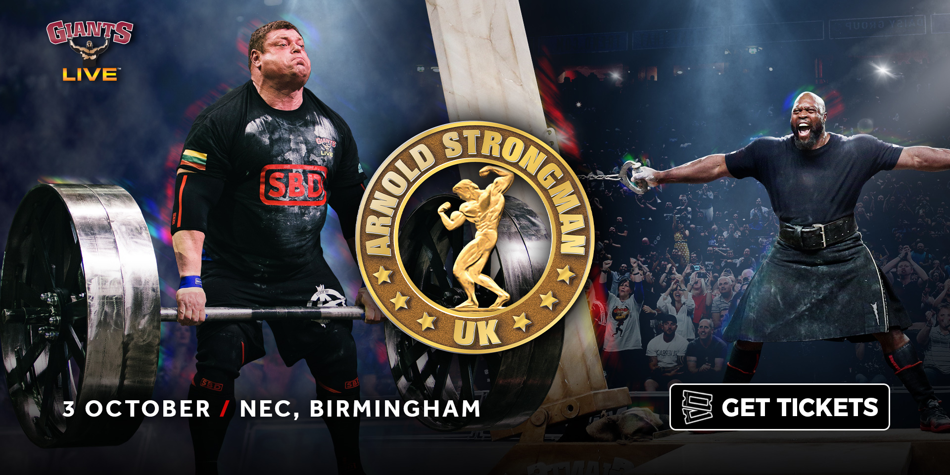 Giants Live at the Arnold Sports Festival UK