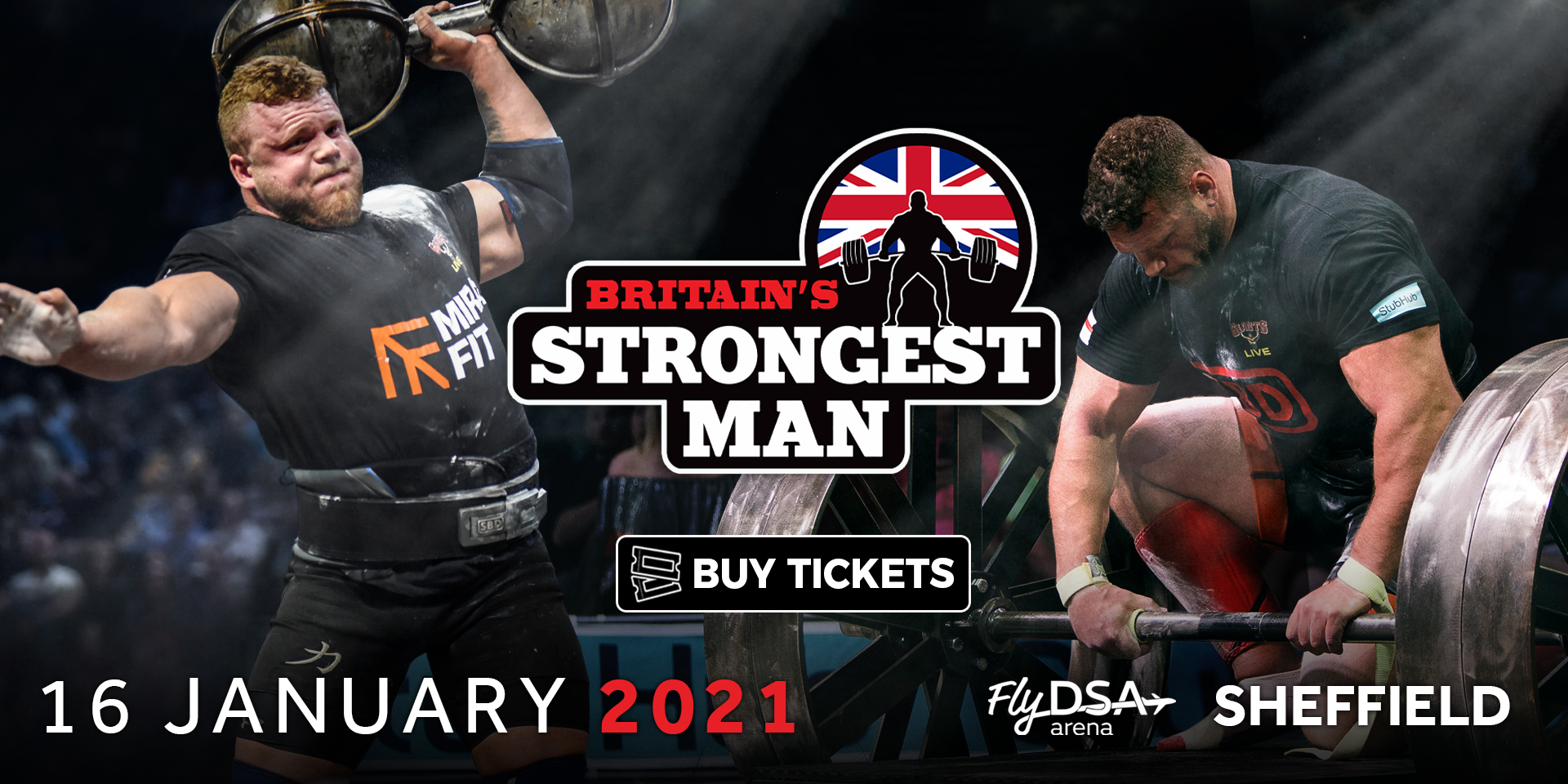 Britain's Strongest Man in Sheffield 2021! Who will  be the strongest man in Britain?