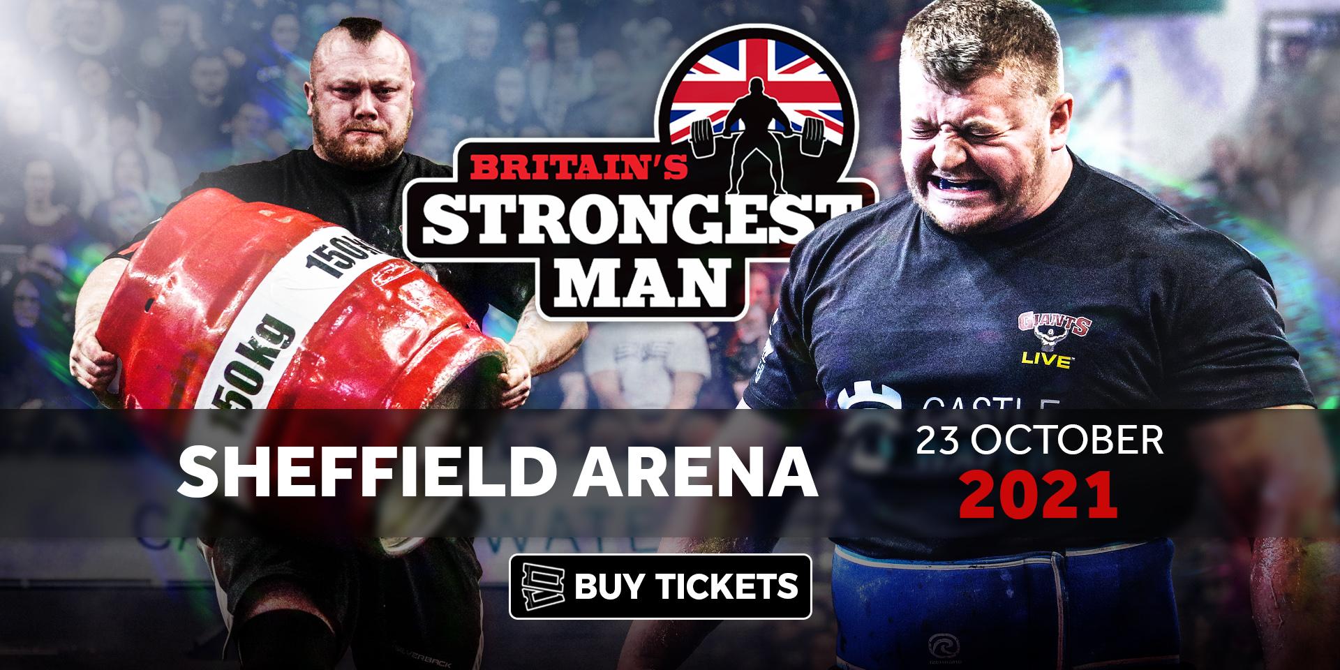 Britain's Strongest Man 2021
