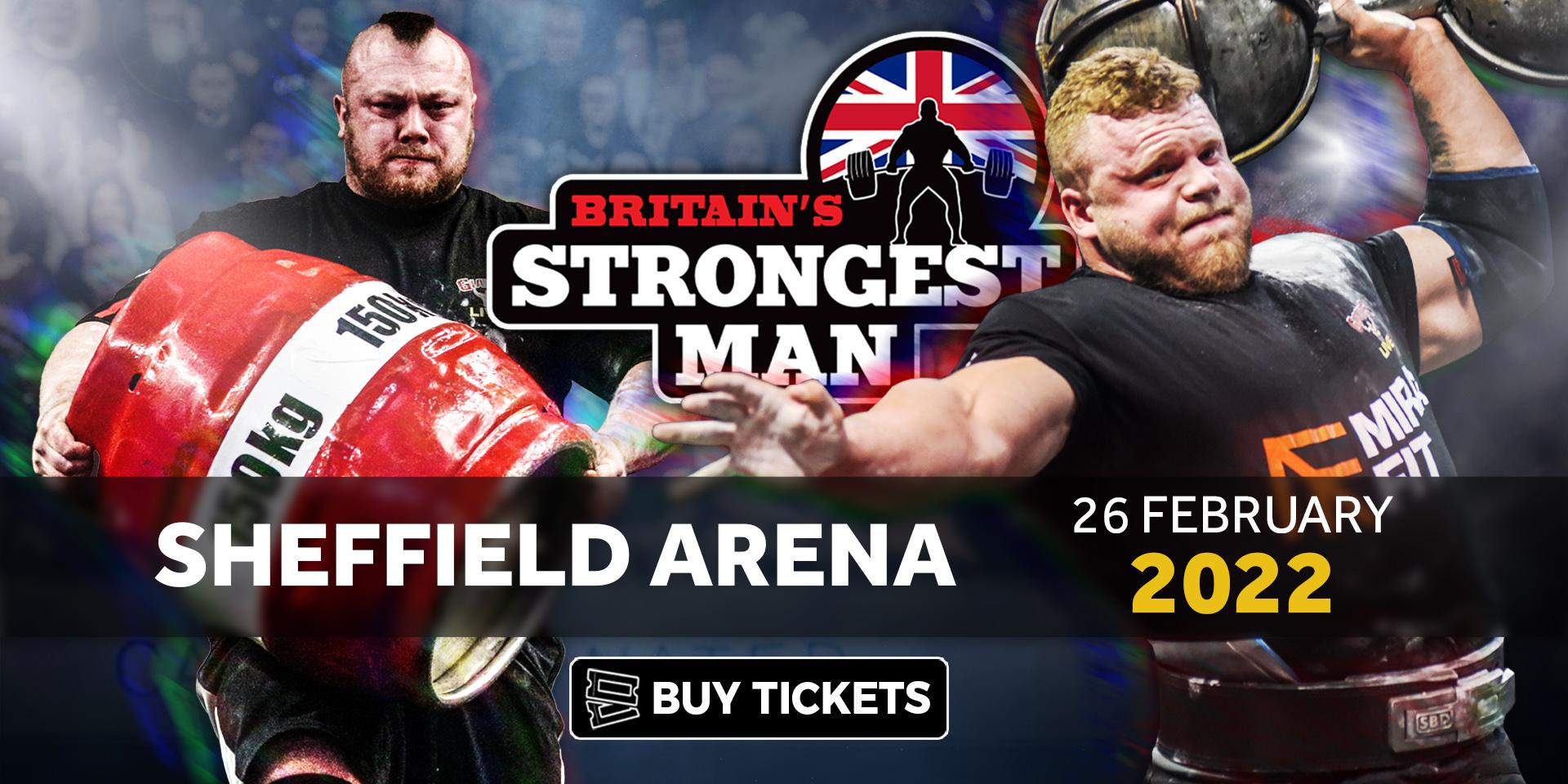 Britain's Strongest Man 2022