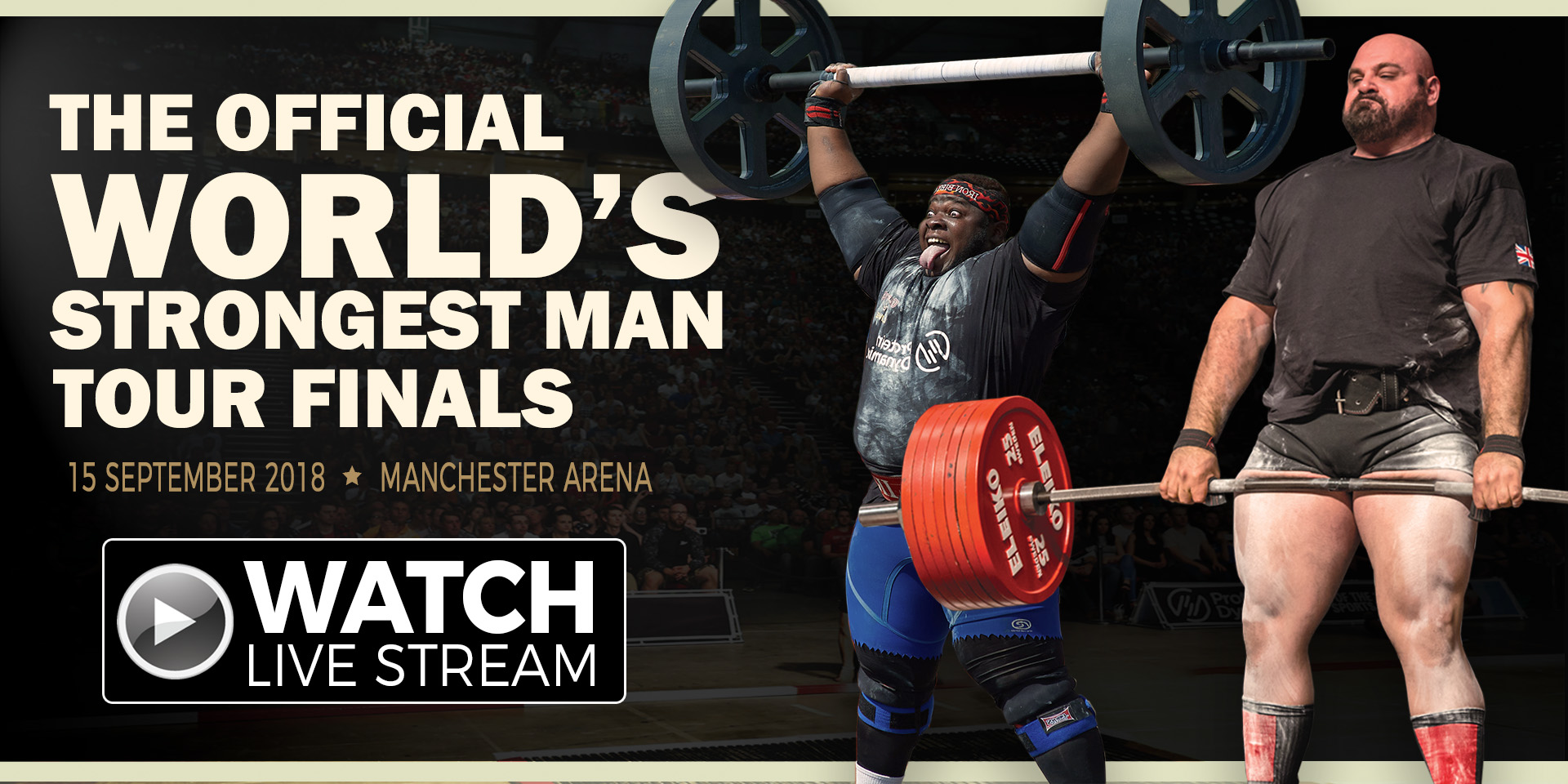 World's Strongest Man Tour Final - Catch the livestream NOW on Officialstrongman.com