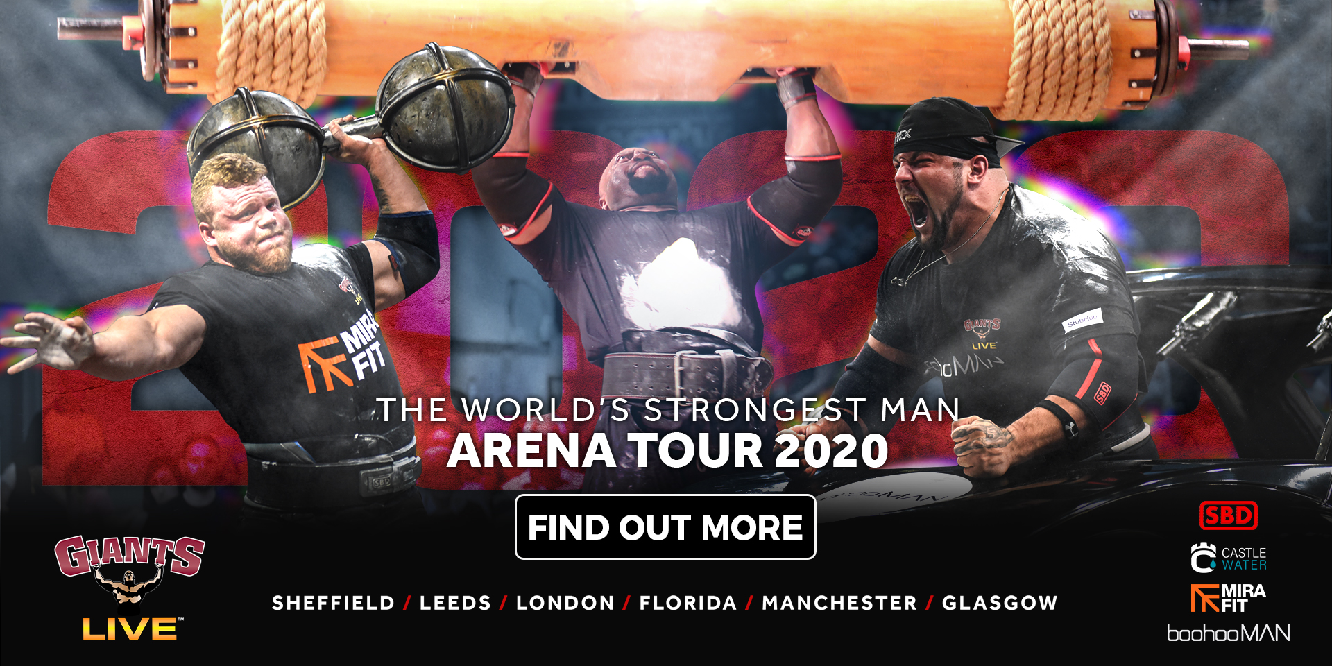 The Biggest STRONGMAN tour EVER! The Giants Live 2020 Arena Tour!