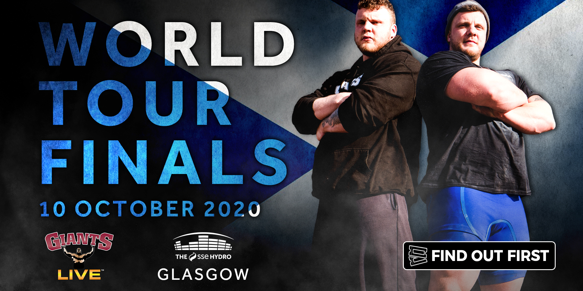 12 of the STRONGEST men on the planet! 5 EPIC events! 1 JAW-DROPPING Tour Finale!