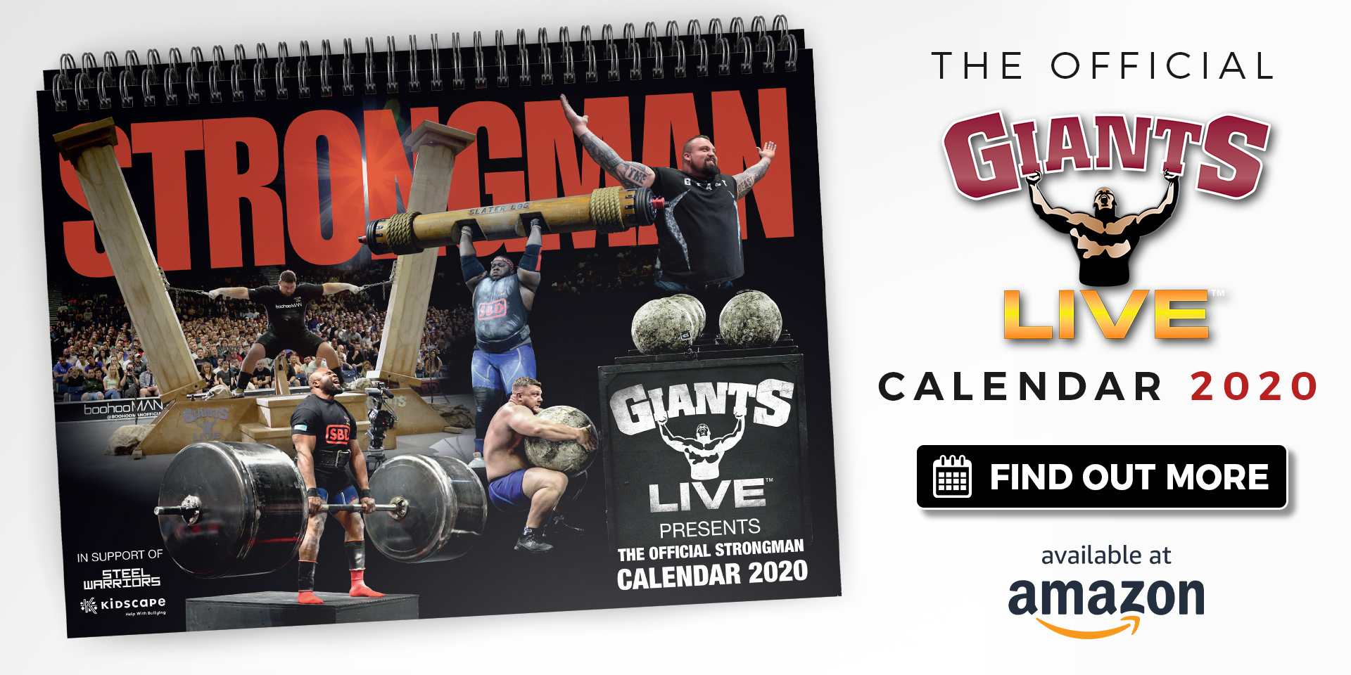 Ready for a strong 2020? Introducing our first Charity Strongman Calendar!