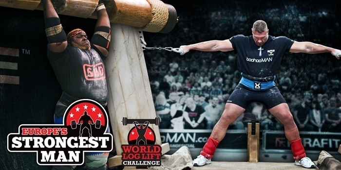 2020: Europe's Strongest Man & World Log Lift Challenge