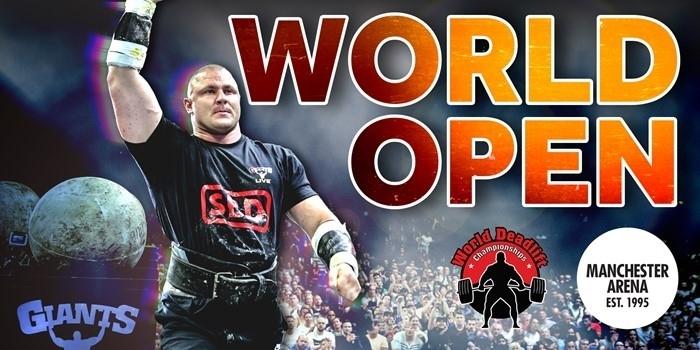 2021: World Open & World Deadlift Championships