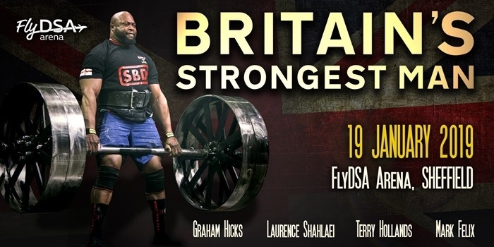 2019: Britain's Strongest Man