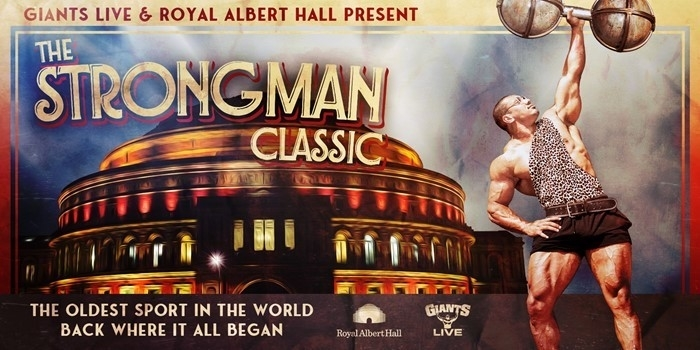 Strength sports returns to Royal Albert Hall in 2020!