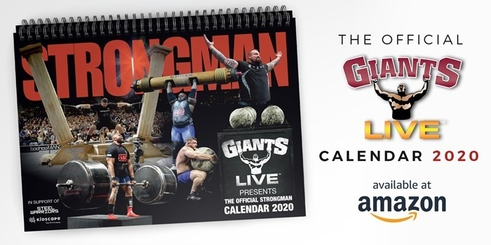 Ready for a strong 2020? Introducing our first Charity Strongman Calendar