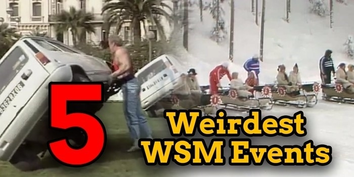 5 Weirdest World's Strongest Man Events