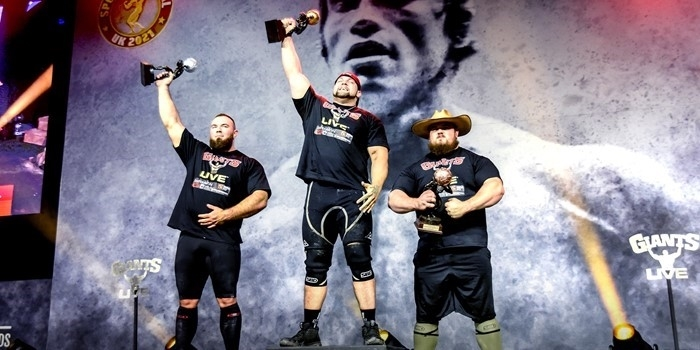The T-REX takes it in a dead heat! Arnold Strongman UK: FULL RESULTS!