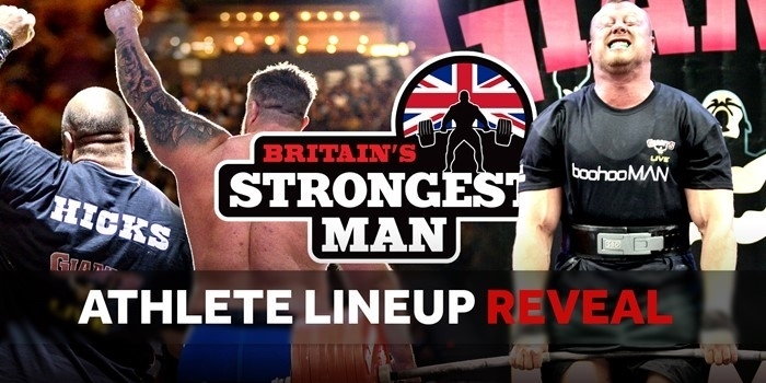 LINEUP REVEAL: Europe's Strongest Man 2021 + Log Lift Challenge