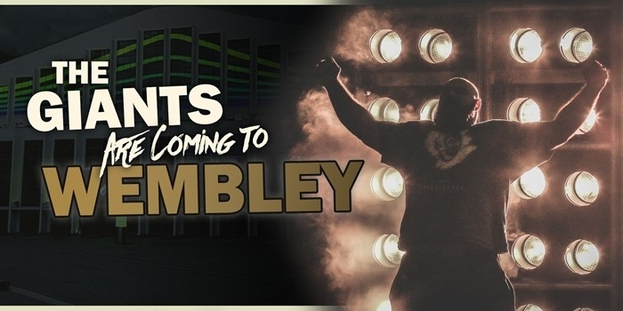 Giants Live Wembley Tour Date Announced!