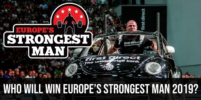 Who will be Europe's Strongest Man 2019? Athlete Round Up + Poll