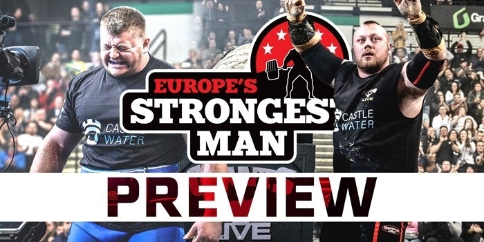 PREVIEW: Europe's Strongest Man 2020 – 8 events, 2 days and 1 champion!