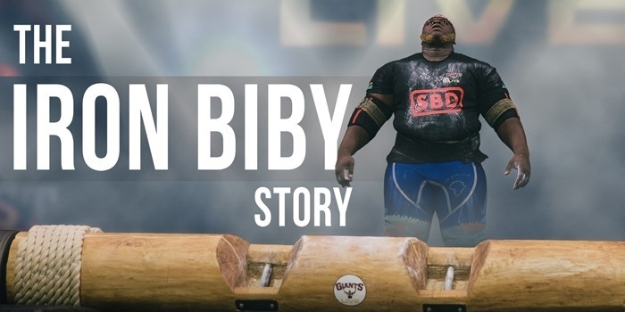 VIDEO: The Iron Biby Story - Bullied School Boy to World Record Log Presser?