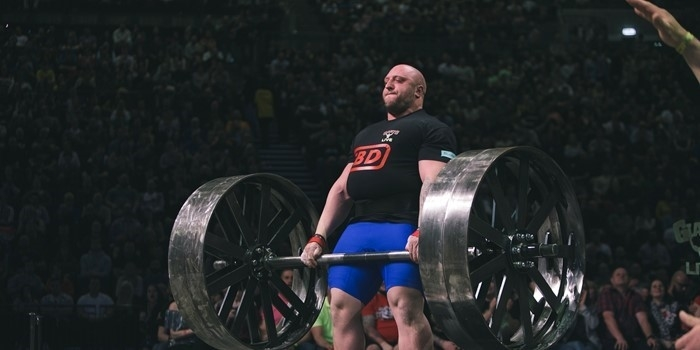Giant Train Axle Deadlift