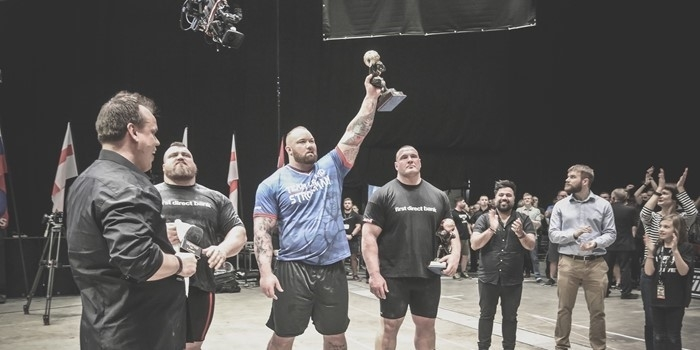 The Mountain beats the Beast! - Europe's Strongest Man 2017 Results & New Axle Press World Record