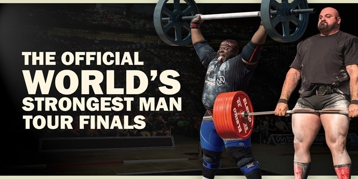 2018: The World's Strongest Man Tour Finals