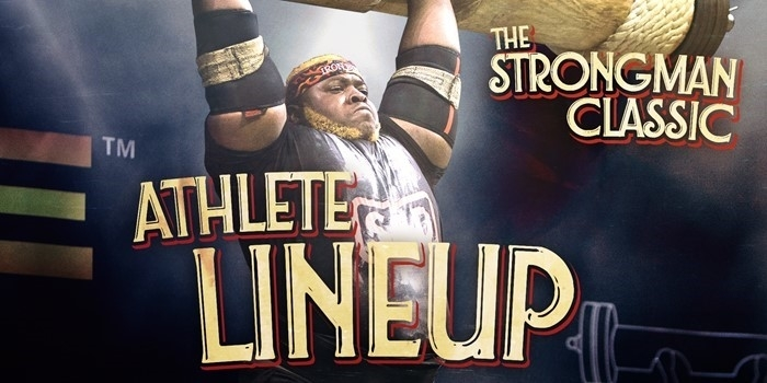 LINEUP REVEAL: The Strongman Classic